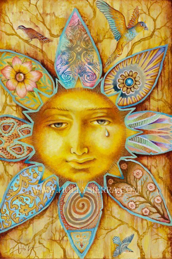 Sun 1 on Pinterest   Sun Painting, Sunday Morning and Sun