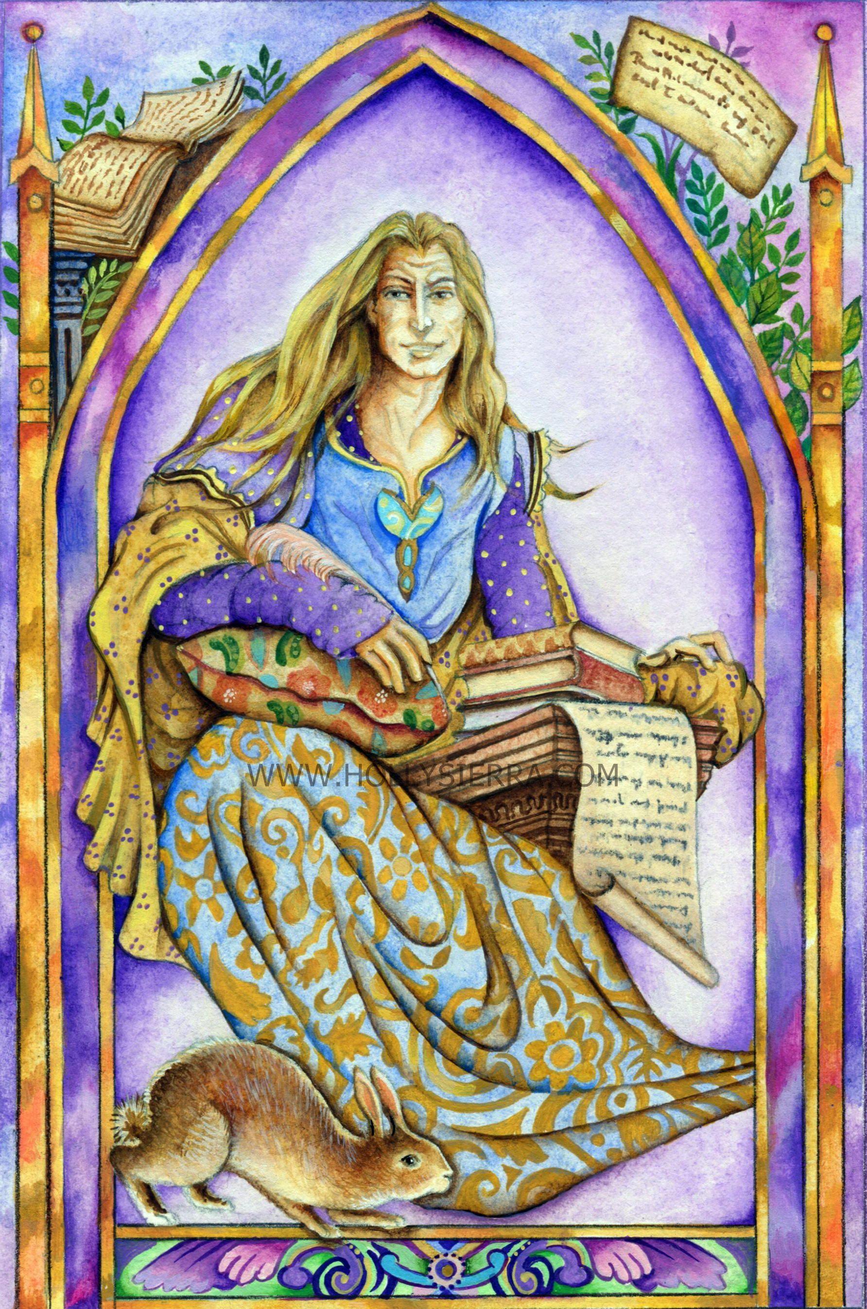 Tarot Artwork Painting